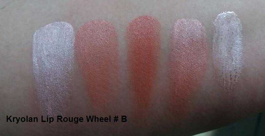 Lip Rouge Mini Palette 18 Colors by kryolan #7