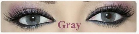 Oxygen Contact Lenses Gray